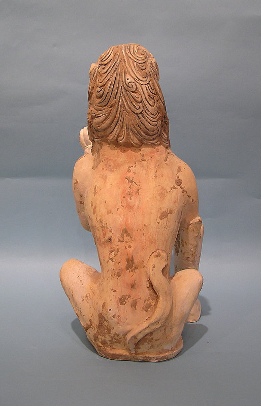 Monumental Tang Dynasty Pottery Lion