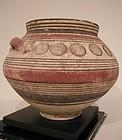Cypriot Bichrome Pottery Bowl