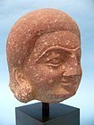 Mathura Red Sandstone Head of a Man