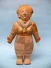 Jama Coaque Pottery Female with Headdress