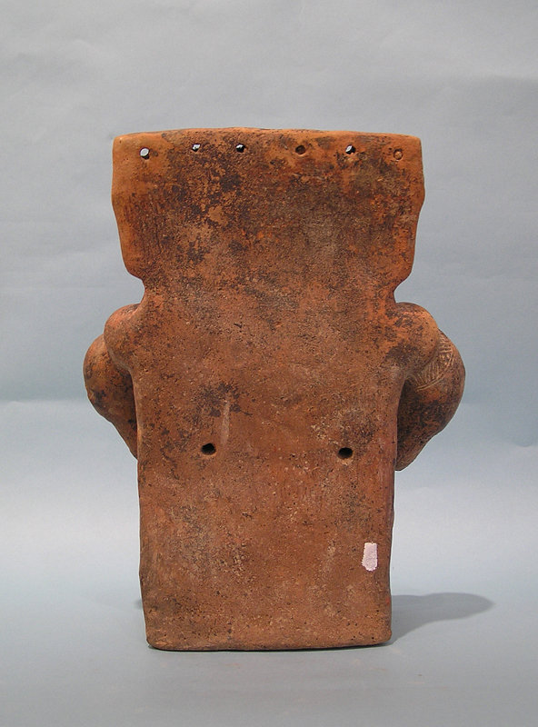 Quimbaya Pottery Slab Male with tail of Bird