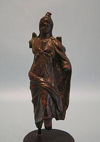Roman Bronze of Moon God, Men, of Anatolia