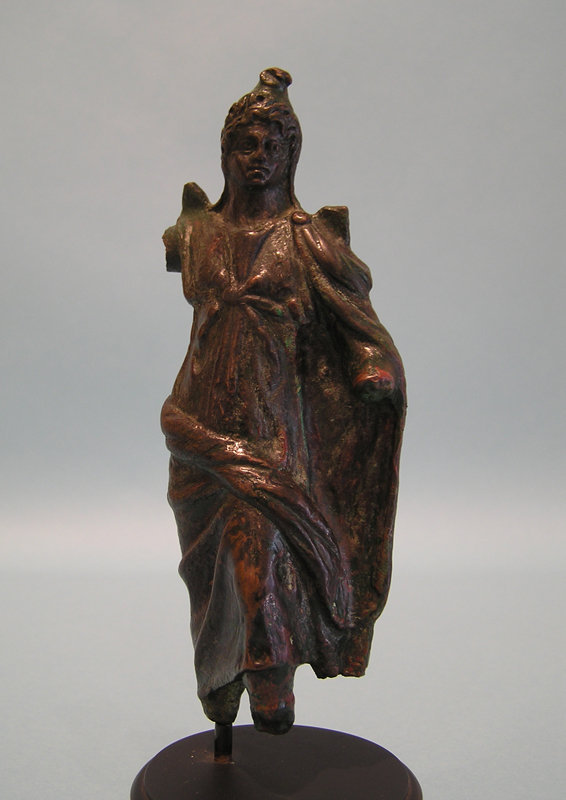 Roman Bronze of Moon God, Men, of Anatolia