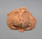 Mameluke Stucco Head of a Lion, Fragment