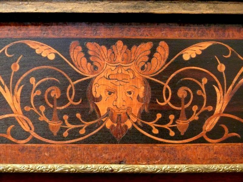 American Renaissance Revival Marquetry Cabinet
