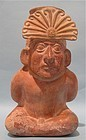 Moche III Pottery Vessel of Sacrificial Captive