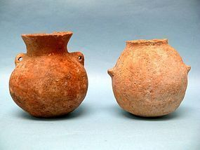 Two Chalcolithic Pottery Vessels found in Holy Land