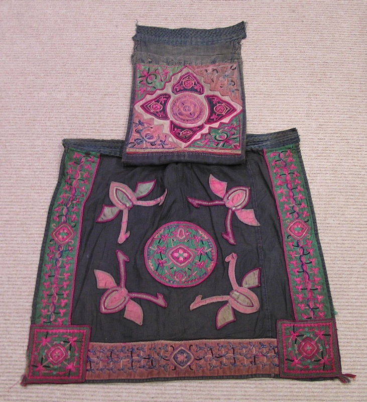 Qing Dynasty Textile Baby Carrier