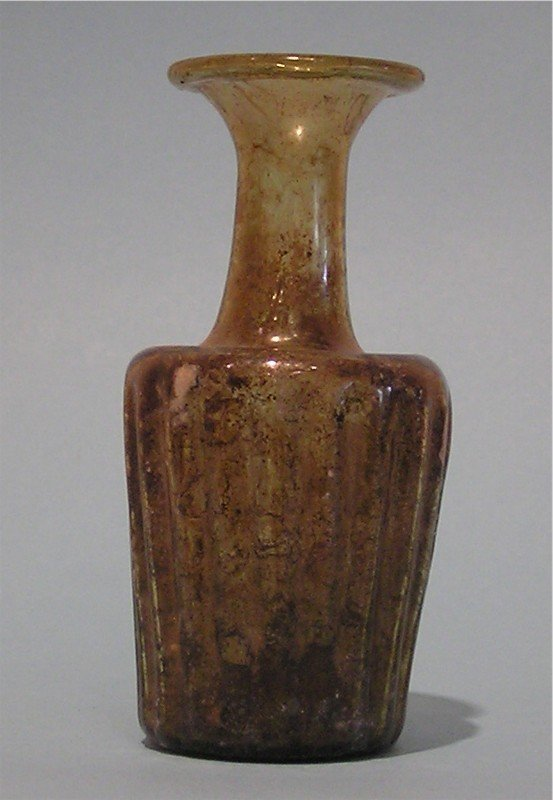 Roman Amber Glass Vessel