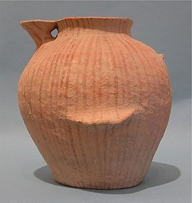 Early Bronze Age I Painted Spouted Vessel