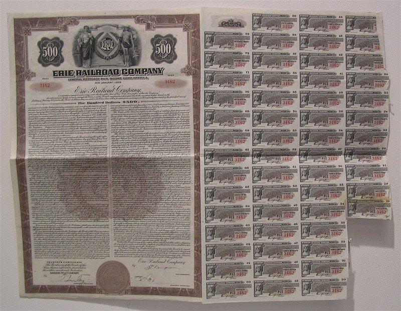 Various Antique Stocks, Bonds, Stamps