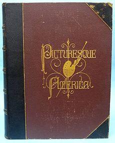 Picturesque America, Vol. I & II, William Cullen Bryant
