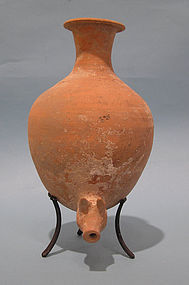 Rare Persian Zoomorphic Pottery Jug