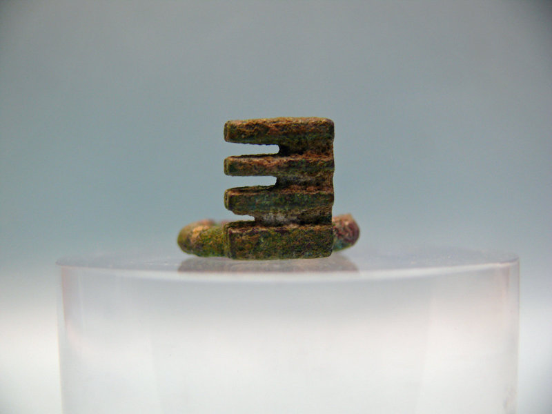 Roman Bronze Key found in the Holy Land