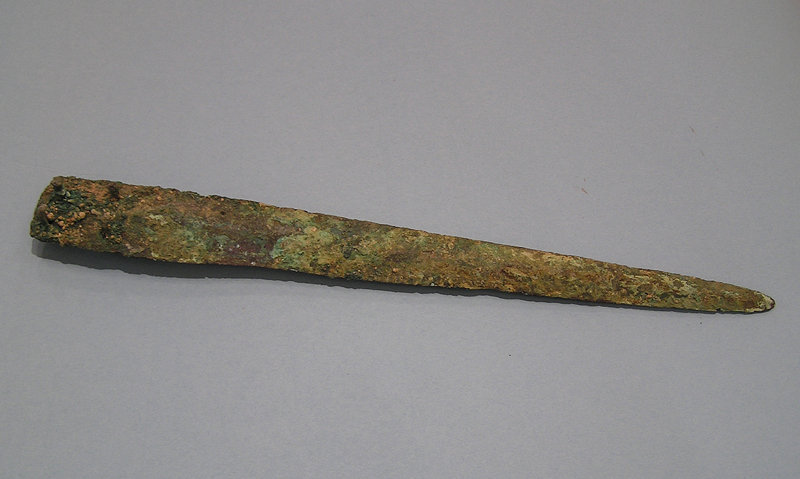 Middle Bronze Age I Dagger found in the Holy Land