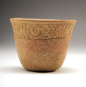 Native American Southwest, Midwest Pottery Bowl