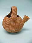 Early Bronze Age Pottery Juglet with Handle