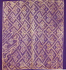 Chancay Lace Textile Panel