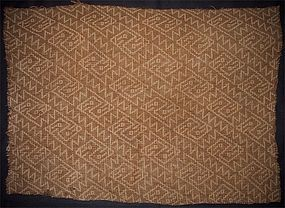 Chancay Textile Panel with Avian Motif