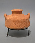 Iron Age I Pottery Pyxis Time of King David