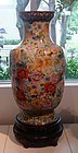Monumental Chinese Cloisonne Enamel Urn, Avian Motif