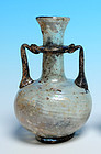 Roman Glass Amphora with Purple Patina