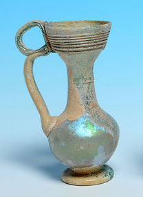 Byzantine Glass Juglet