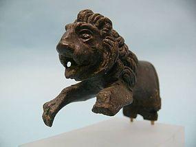 Roman Bronze Lion Protome