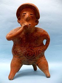 Nayarit Pottery Seated Female, Protoclassic