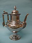 W. Gale & Son Sterling Silver Medallion Coffee Pitcher