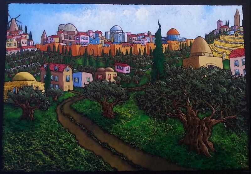 Dreaming of Jerusalem, by Jonathan Kis-Lev