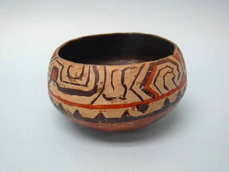 Early 20th Century Shipibo Pottery Bowl