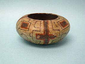 Early 20th Century Shipibo Pottery Olla