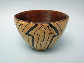 Early 20th Century Shipibo Pottery Cup
