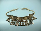 Antique Yemenite Silver Jewish Wedding Jewelry