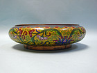Chinese Cloisonne Brush Bowl