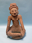 Veracruz Terracotta Seated Female, El Faisan