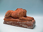 19th Century Italian Paperweight of a Headless Sphinx, Grand Tour