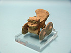 Miniature Syro Hittite Terracotta Chariot