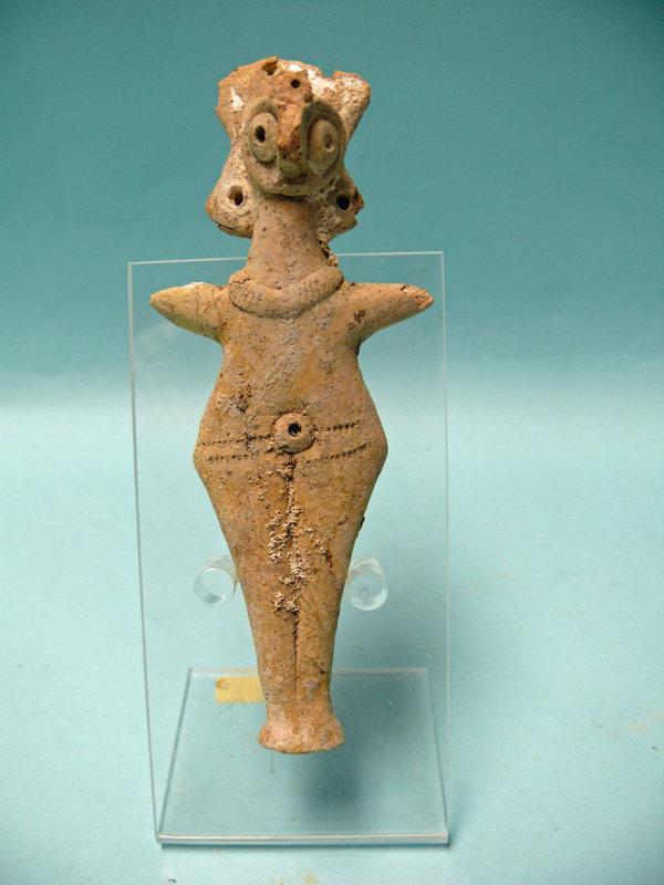 Syro Hittite Terracotta Astarte / Goddess