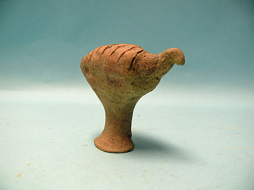 Syro Hittite Terracotta Bird Like Idol