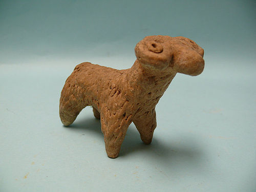 Canaanite Terracotta Idol of a Sacrificial Ram