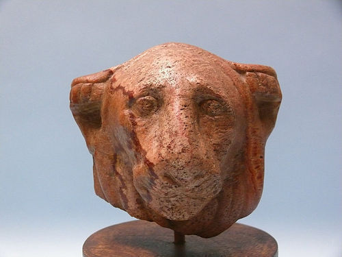 Ptolemaic Stone Head of a Lion, Time of Cleopatra