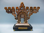 "Frank Meisler ""Golden Gate Menorah"""