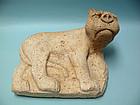 Large Sasanian Stone Recumbent Lion
