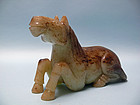 Fine Ming Dynasty Jade Horse