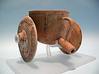 Cypriot Bichrome Ware Terracotta Chariot