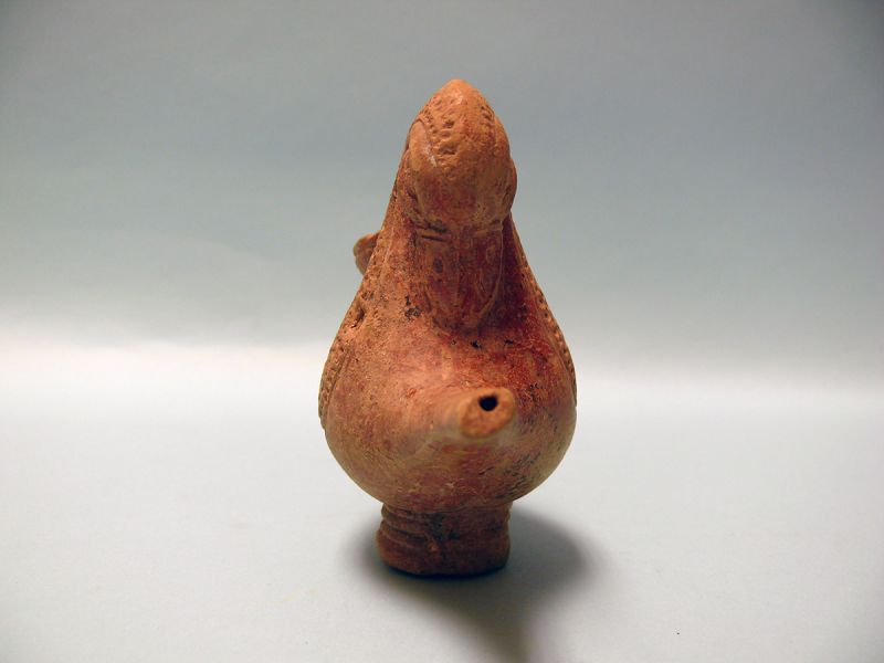 Hellenistic Terracotta Vessel in form of a Duck