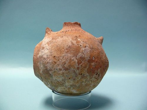 Early Bronze Age II Terracotta Miniature Butter Churn