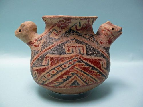 Casas Grandes Pottery Animal Effigy Bowl